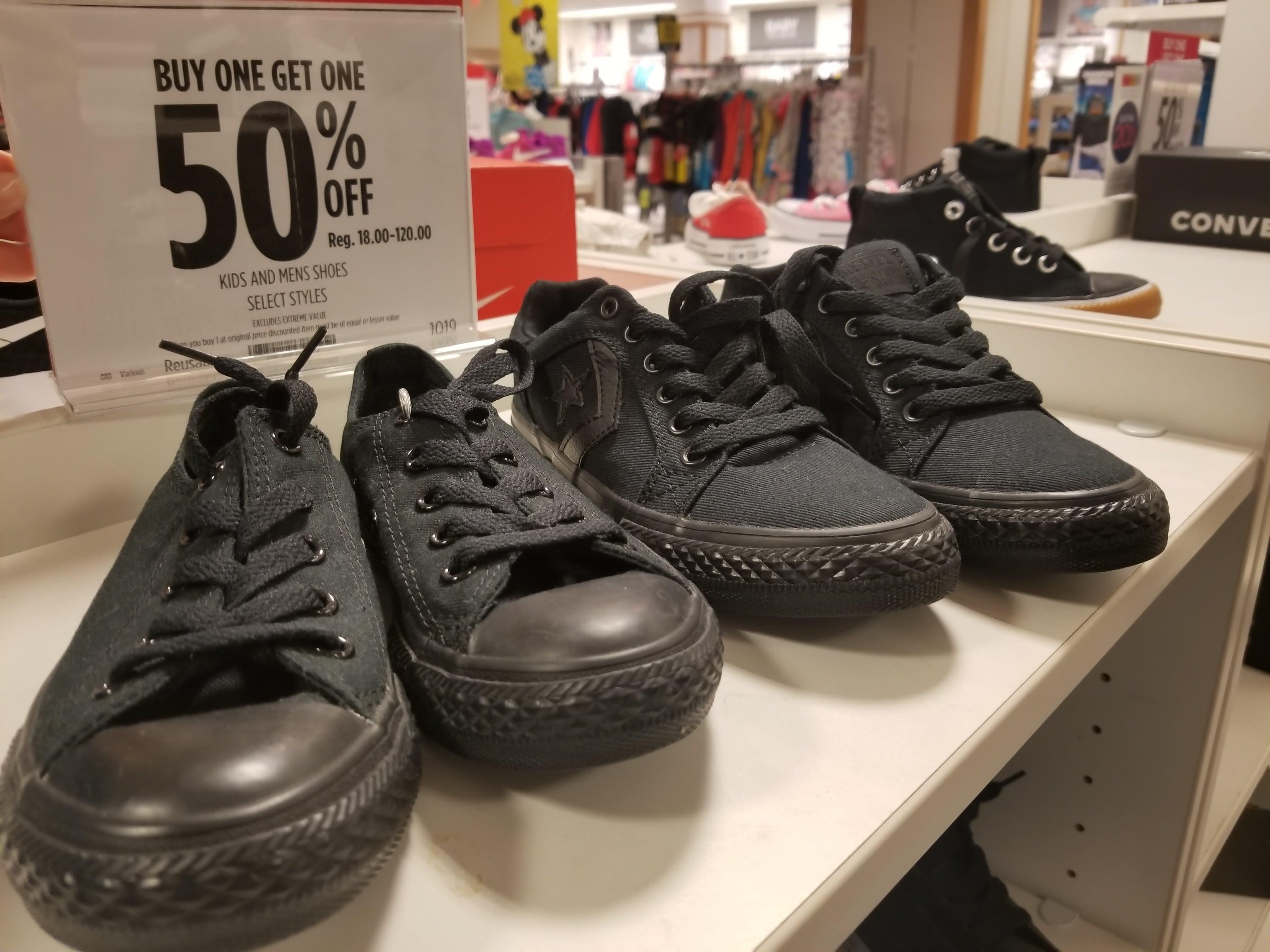 $25 Vans and BOGO 50% Off Converse at