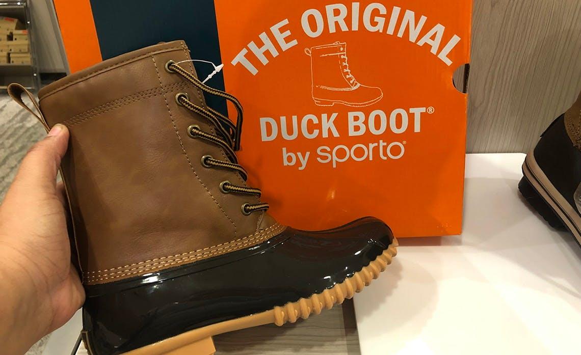 Women's Original Duck Boots, Only $29