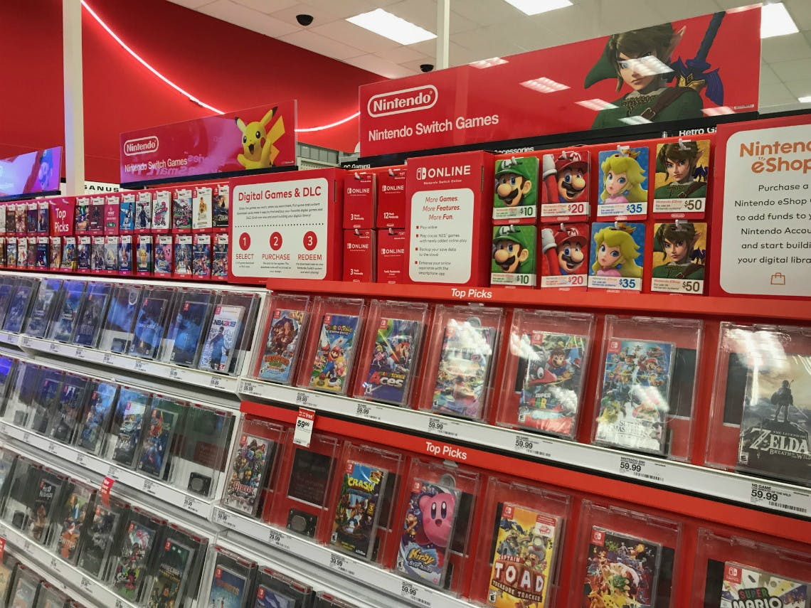 Bogo Free Nintendo Switch Games At Target The Krazy Coupon Lady