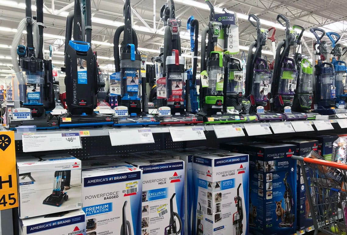 Bissel Powerforce Helix Turbo Bagless Vacuum 59 At Walmart The Krazy Coupon Lady