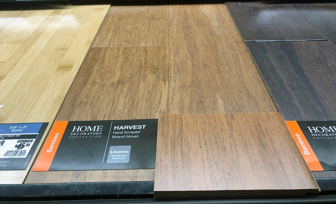 Home Decorators Bamboo Flooring 1 72 Sq Ft At Home Depot The Krazy Coupon Lady
