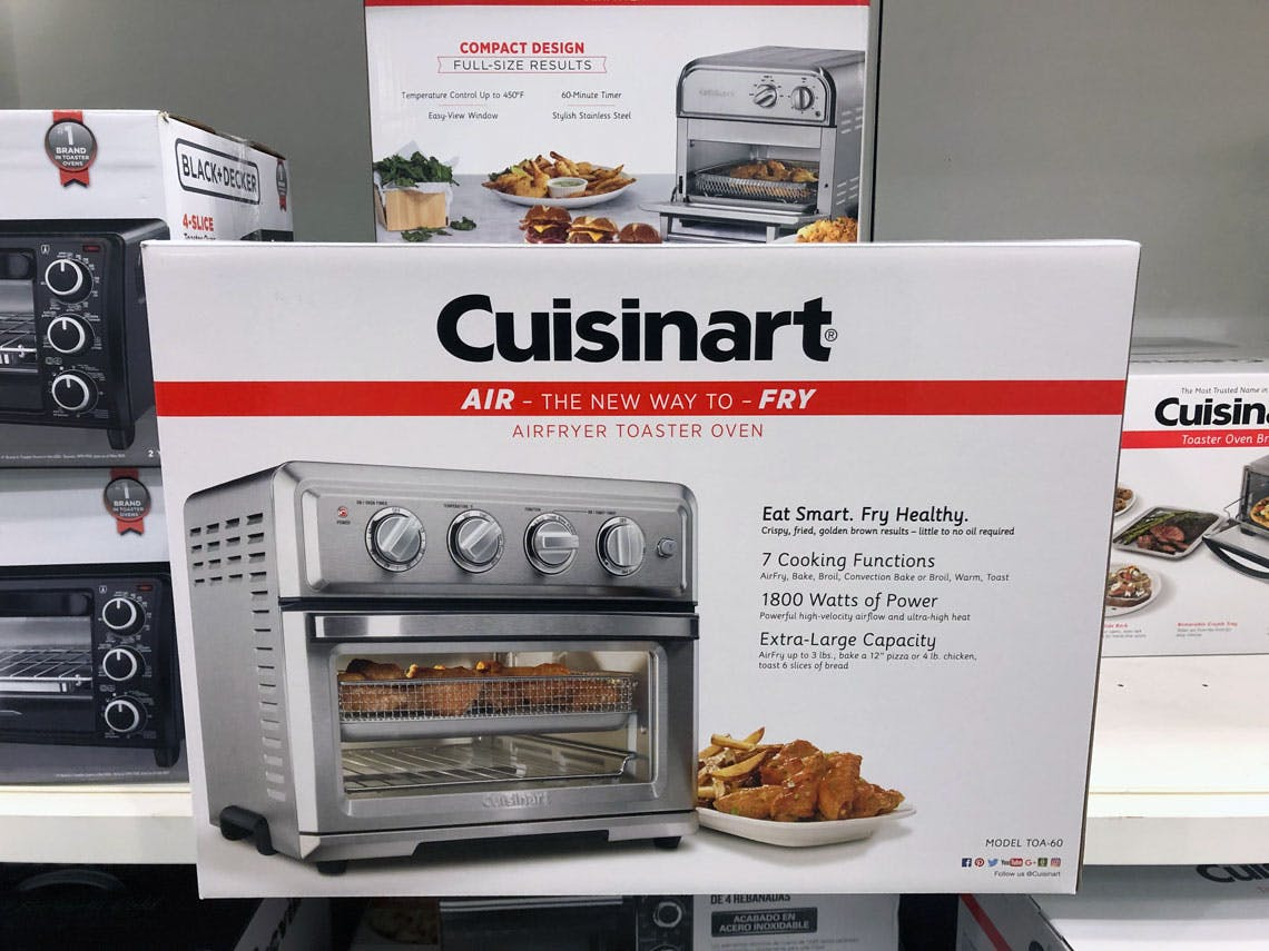 Cuisinart Air Fryer Toaster Oven Only 161 49 At Target The