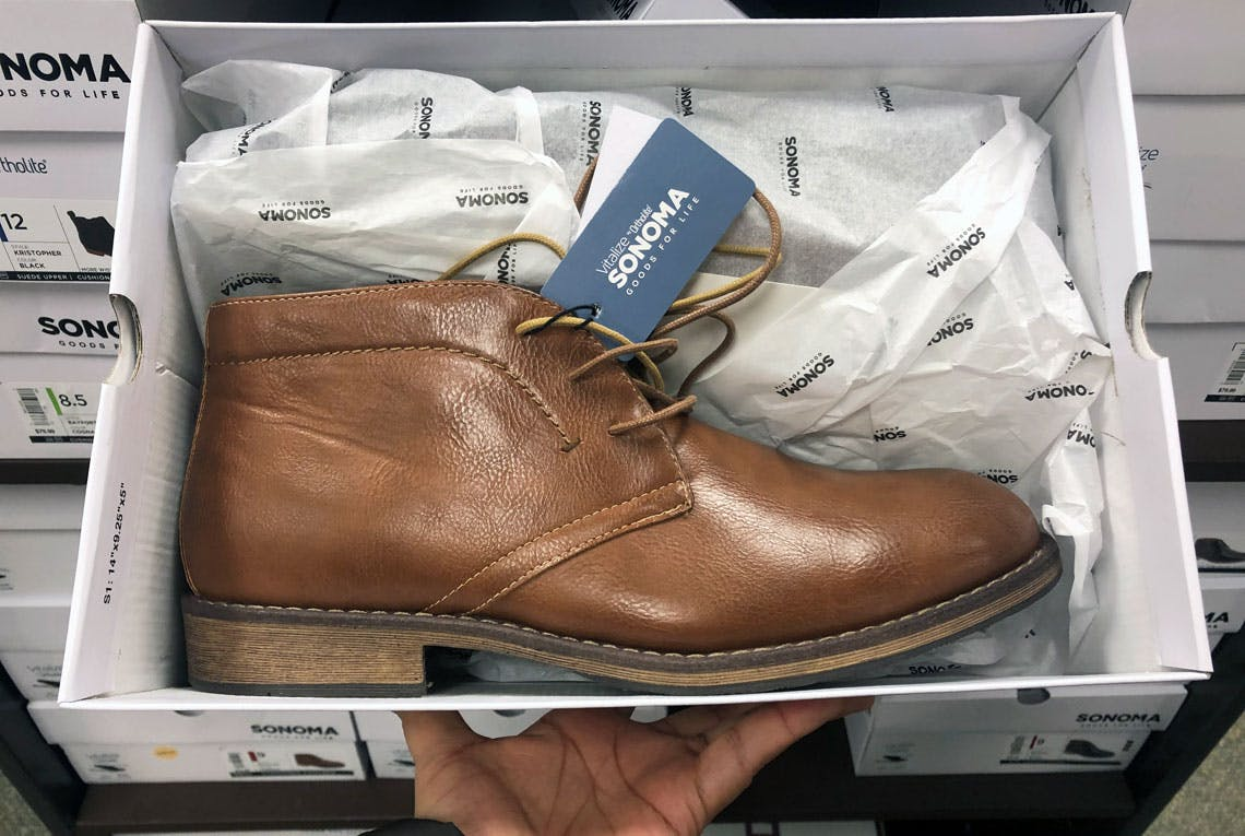 Sonoma Men's Chukka Boots, Only $24 at