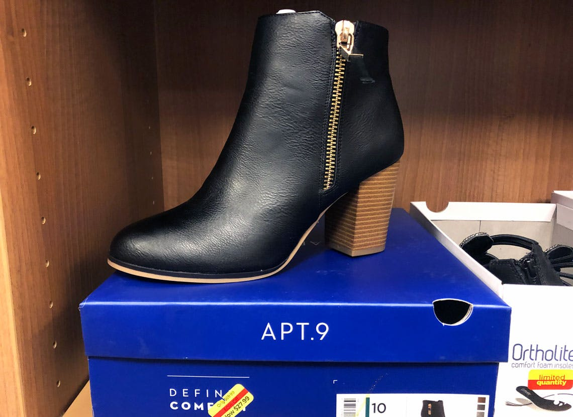 Women's Ankle Booties, as Low as $24 at