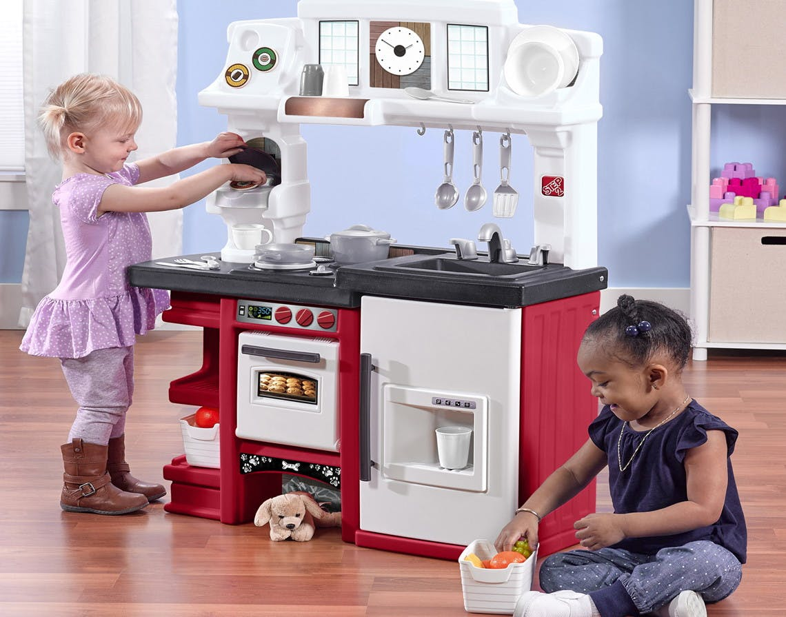 Step2 Coffee Time Kitchen W Toy Coffee Maker 53 At Walmart The Krazy Coupon Lady