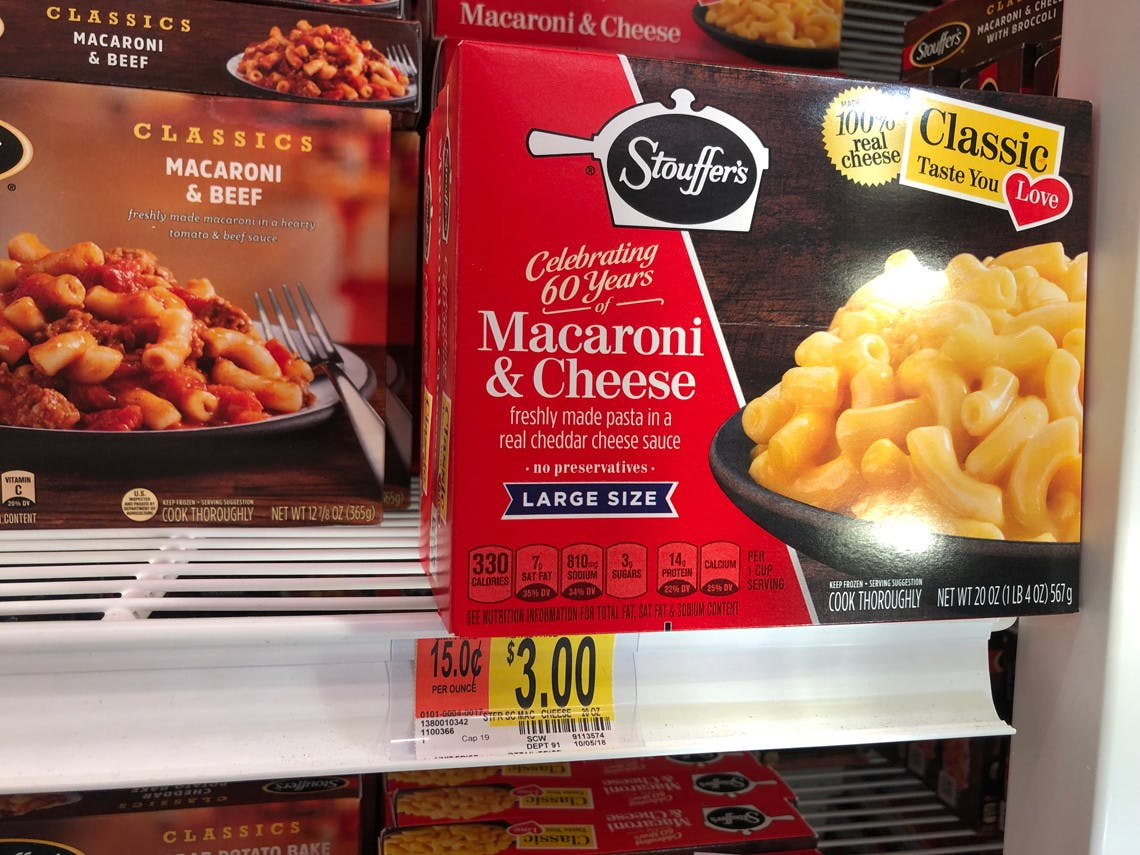 Use Your Phone To Save On Stouffer S Frozen Meals At Walmart The Krazy Coupon Lady