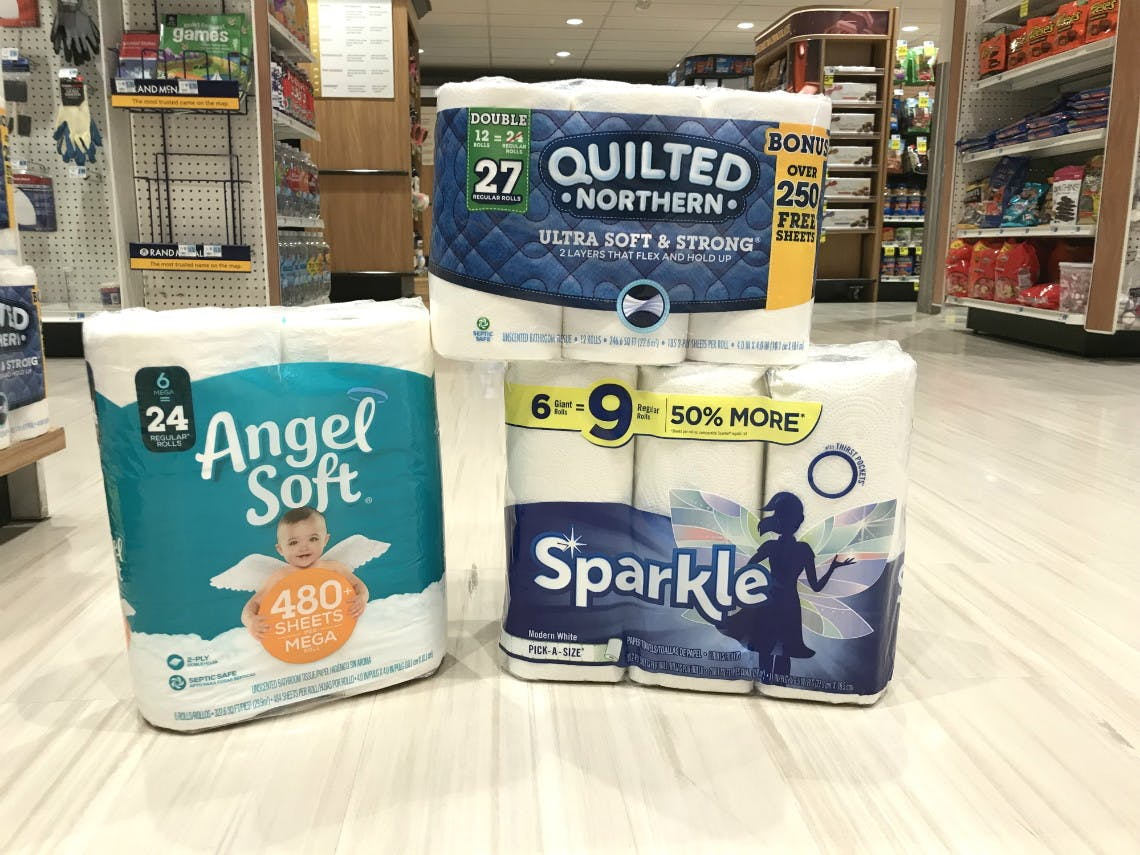 Bath Tissue Paper Towel Coupons On Amazon Brawny Angel Soft More The Krazy Coupon Lady