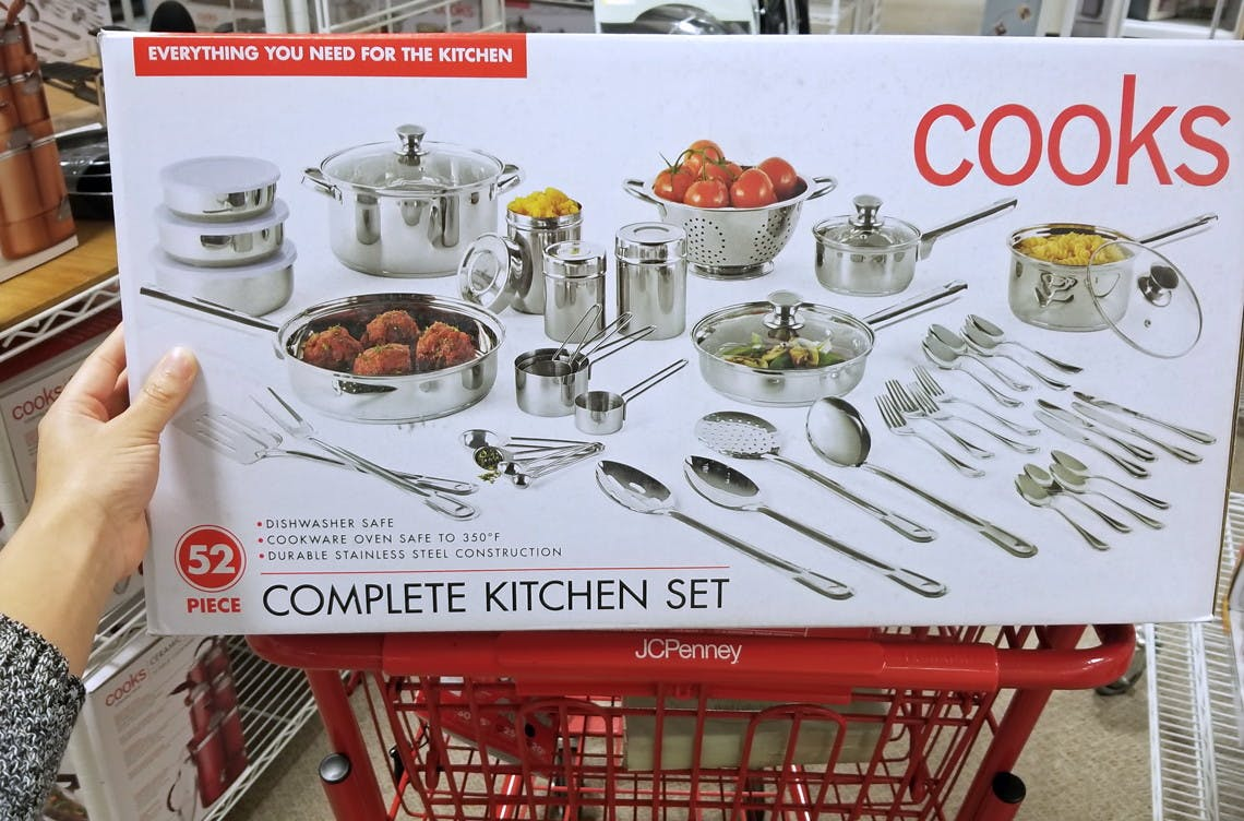 52 Piece Kitchen Set Only 34 At Jcpenney Reg 160 The Krazy Coupon Lady