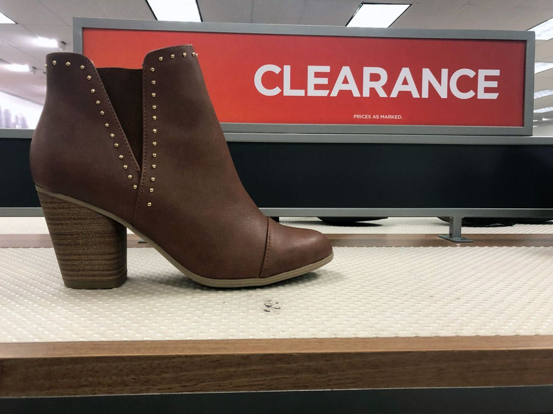 Clearance Women's Ankle Boots, as Low