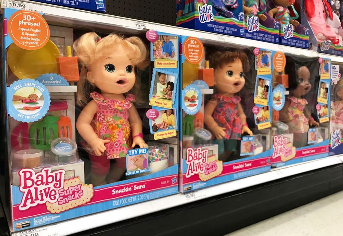 Baby Alive Dolls Only 27 15 At Target Reg 49 99 The Krazy Coupon Lady