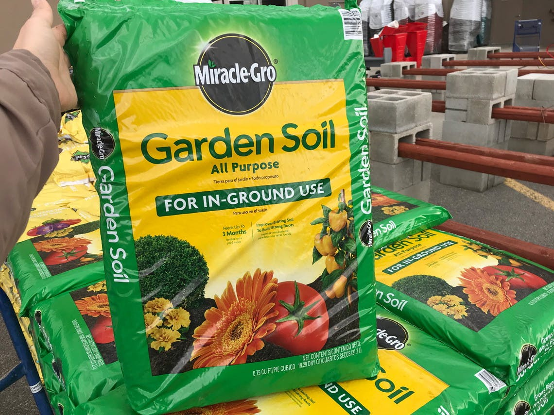 Miracle Gro Garden Soil 2 At Home Depot Lowe S The Krazy Coupon Lady