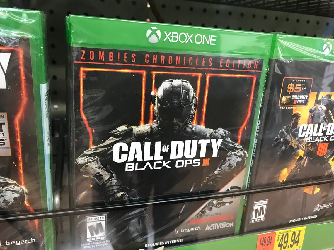 Call Of Duty Black Ops 3 Only 13 At Walmart Reg 60 The Krazy Coupon Lady