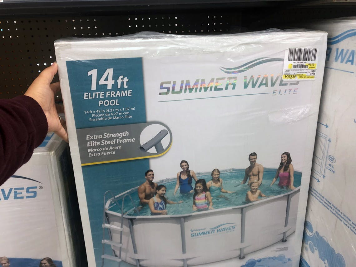 Metal Frame Above Ground Pools As Low As 89 At Walmart The Krazy Coupon Lady