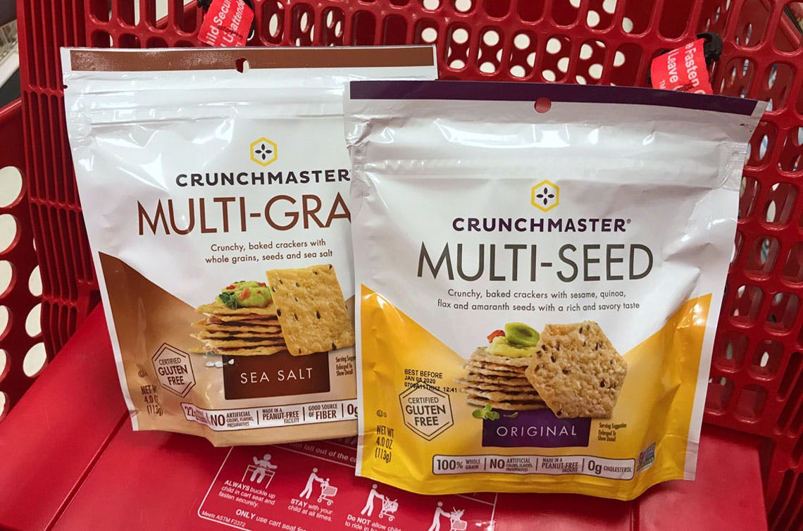 Crunchmaster Crackers Just 0 50 At Target The Krazy Coupon Lady
