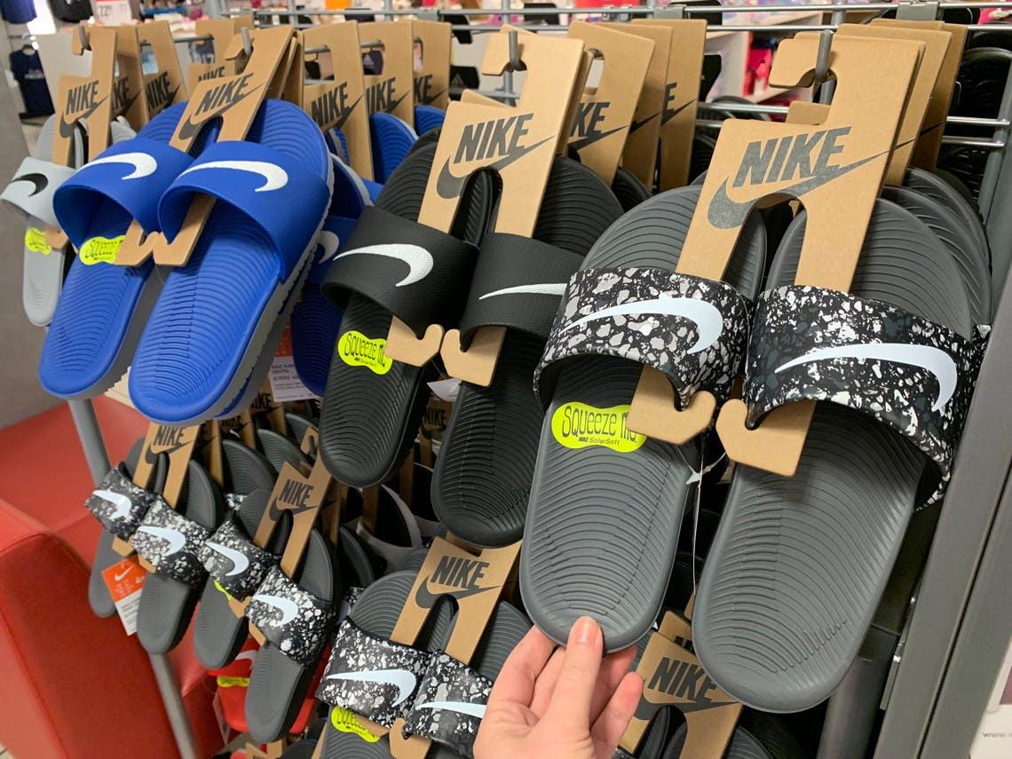 kohls boys nike sandals