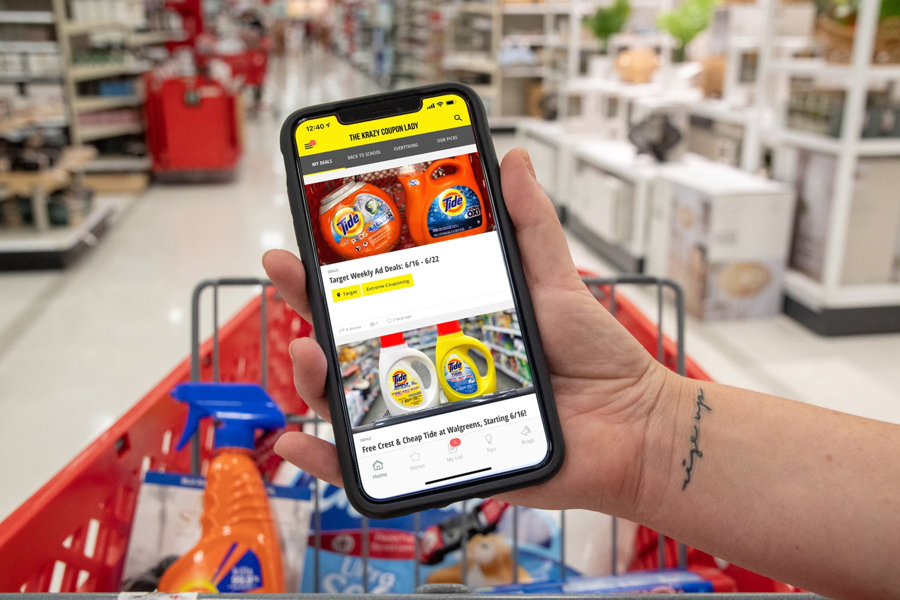 Getting Started With The Krazy Coupon Lady Mobile Ios App The Krazy Coupon Lady