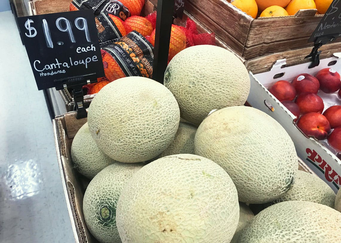 Cantaloupe Watermelon As Low As 1 49 At Target The Krazy Coupon Lady We have from company's trade report, you can check company's contact, partners, ports, and you can also query the price of cantaloupe. cantaloupe watermelon as low as 1