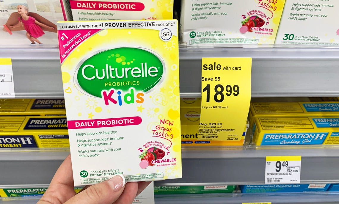Triple Stack Culturelle Probiotics As Low As 8 99 At Walgreens The Krazy Coupon Lady