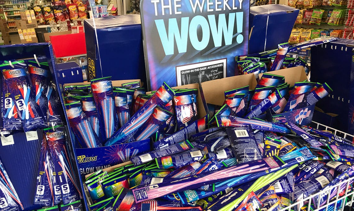 4th Of July Party Sticks Only 1 00 At Dollar Tree The Krazy Coupon Lady