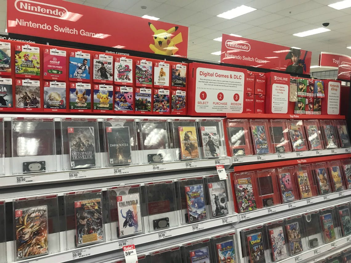 Nintendo Switch Games As Low As 18 99 At Target The Krazy Coupon Lady