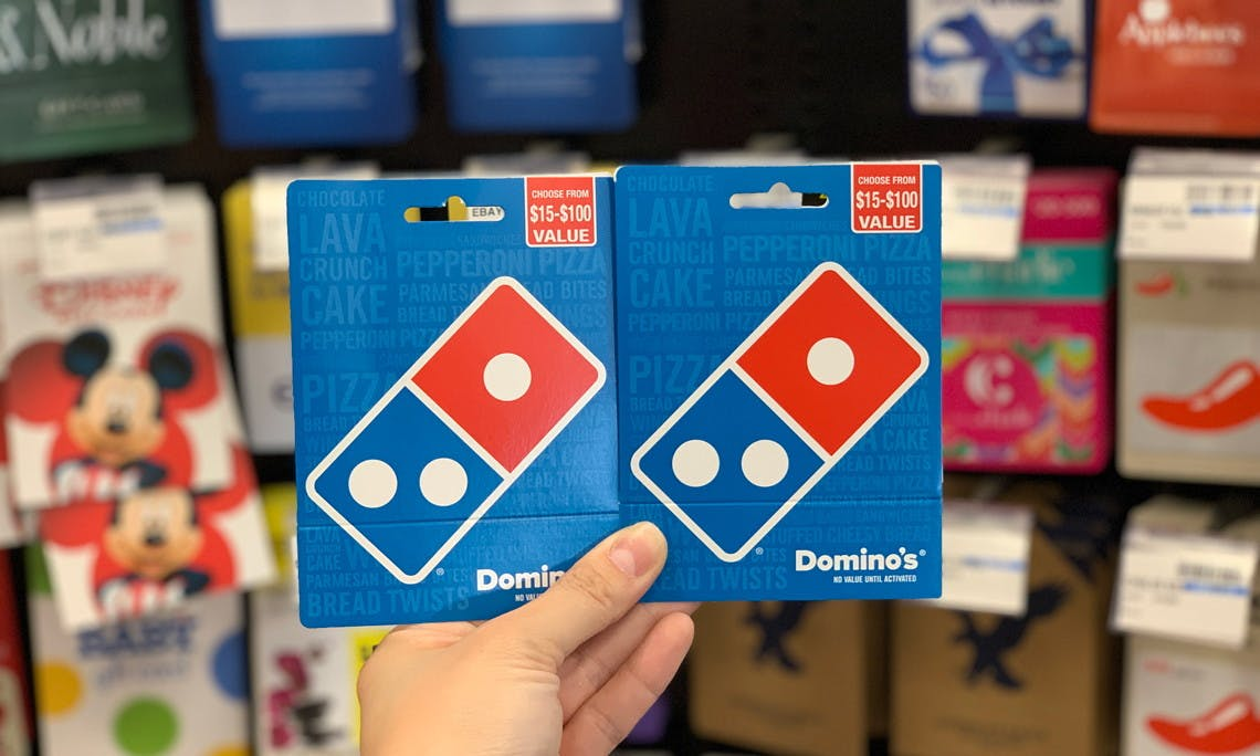 Save 10 On Domino S Gift Cards At Cvs The Krazy Coupon Lady