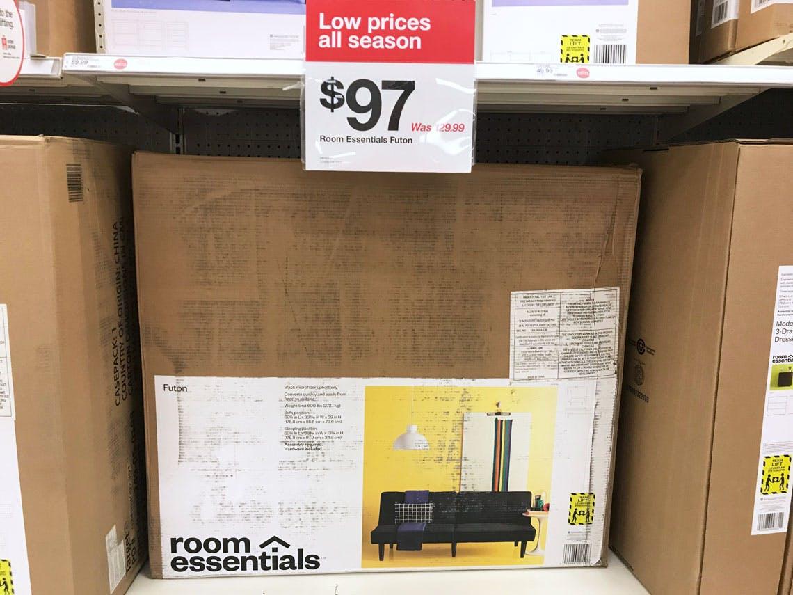 Room Essentials Futon As Low 57 94