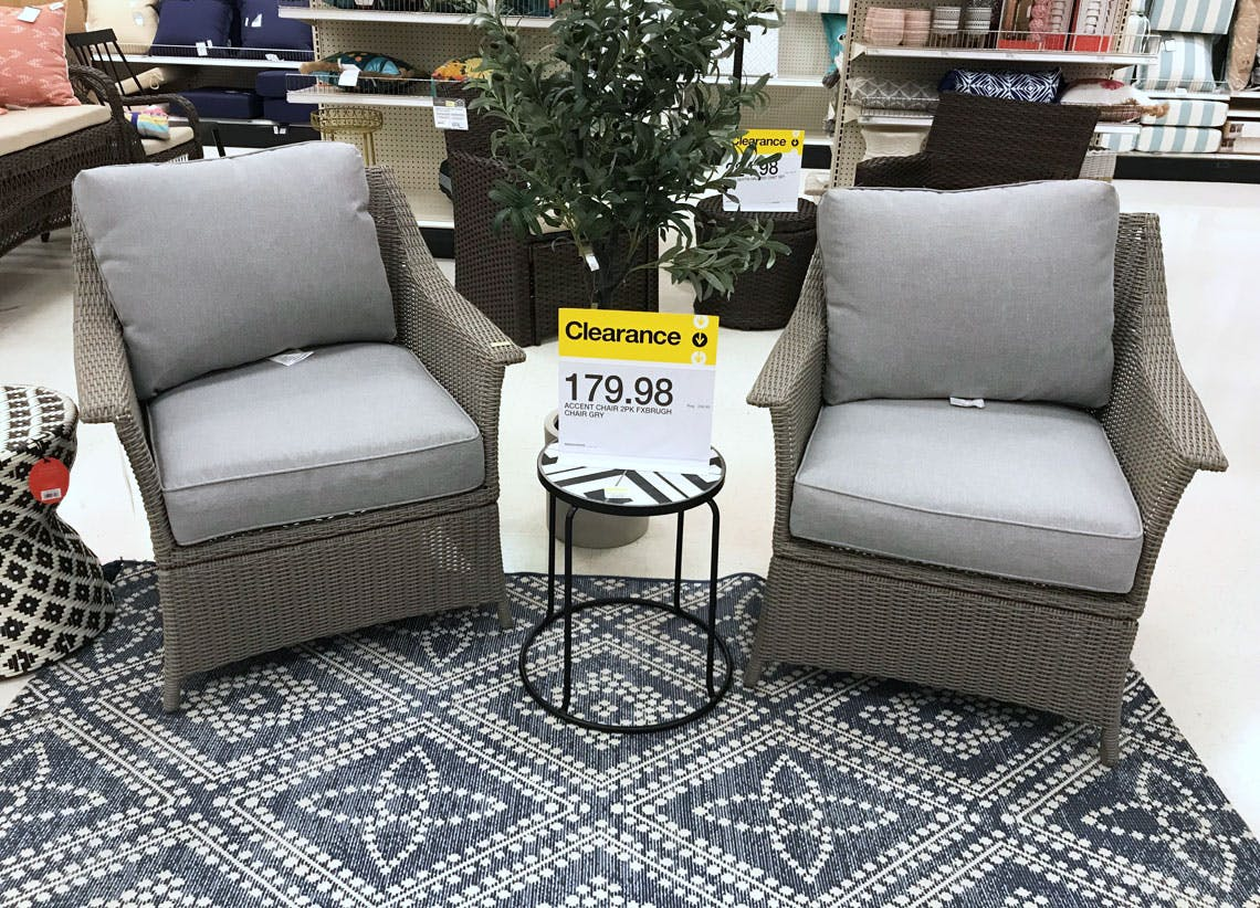 Patio Set Clearance As Low As 89 98 At Target The Krazy Coupon Lady