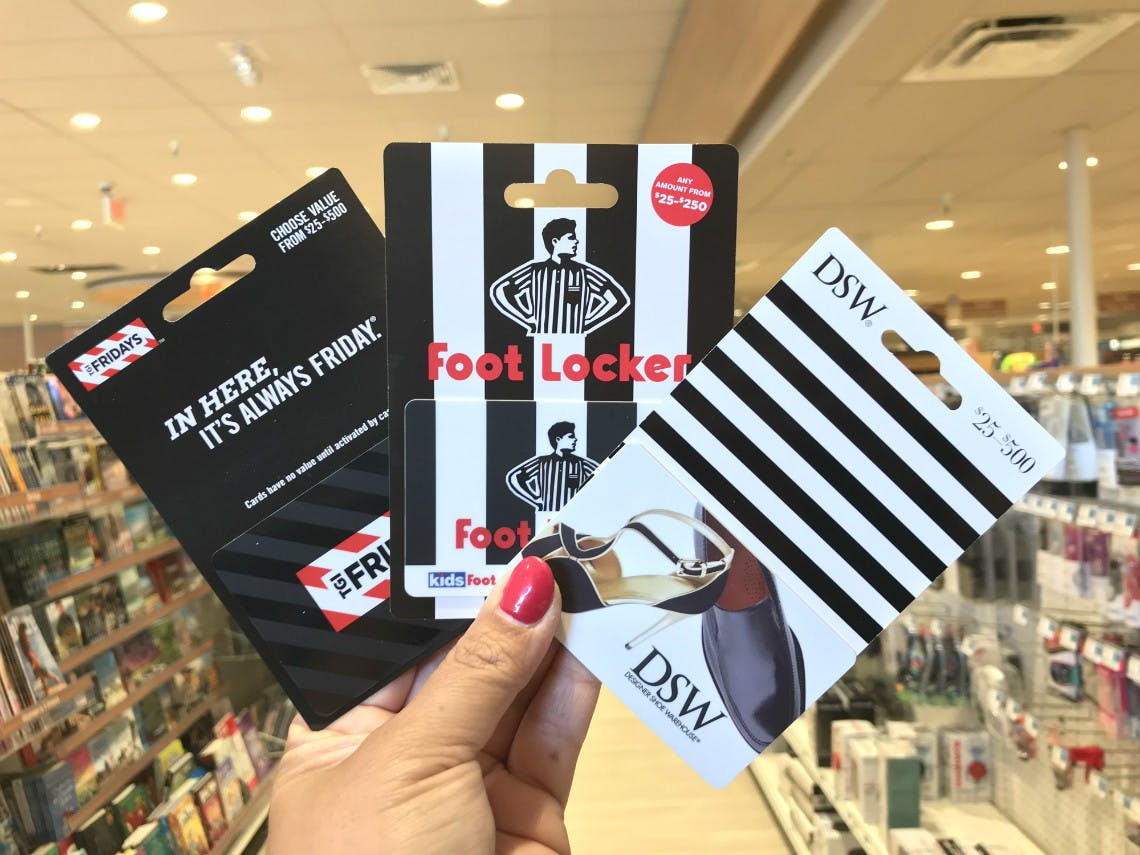 Earn Bonuscash On Dsw Foot Locker More Gift Cards At Rite Aid The Krazy Coupon Lady