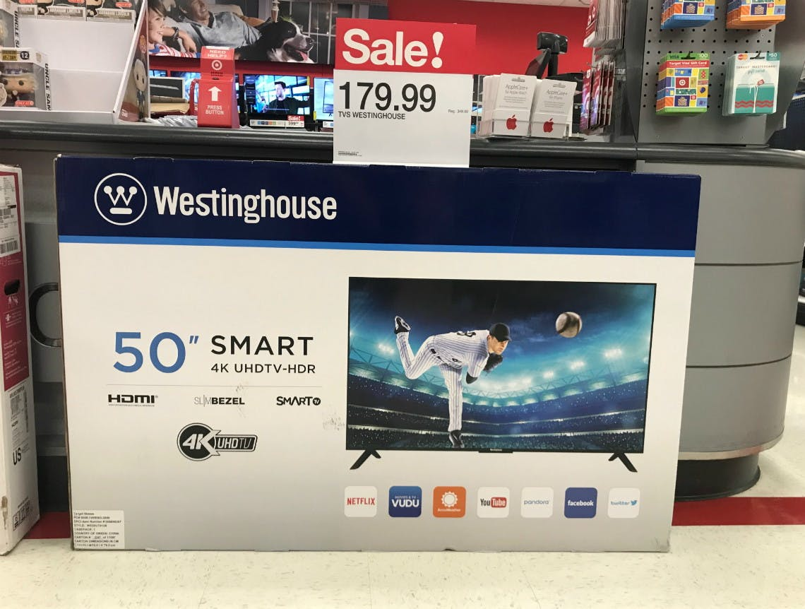 Westinghouse 50 4k Smart Tv Only 179 99 At Target The Krazy Coupon Lady
