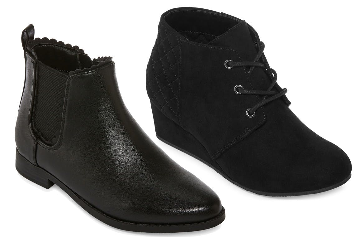 JCPenney Boot Clearance for Adults