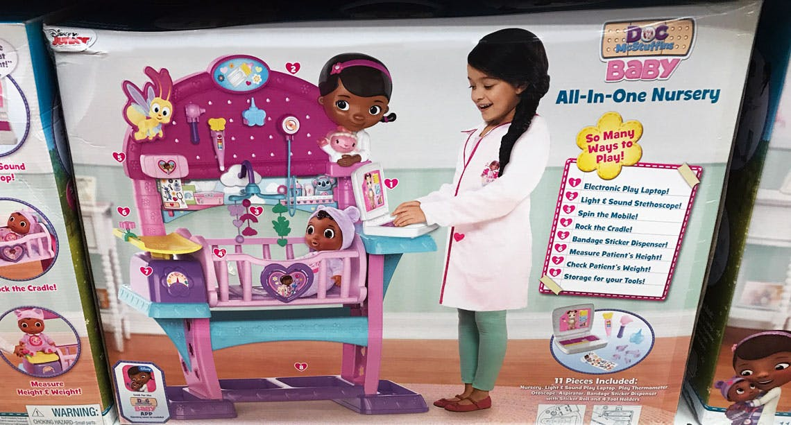 Doc Mcstuffins Baby All In One Nursery Only 60 At Walmart The Krazy Coupon Lady