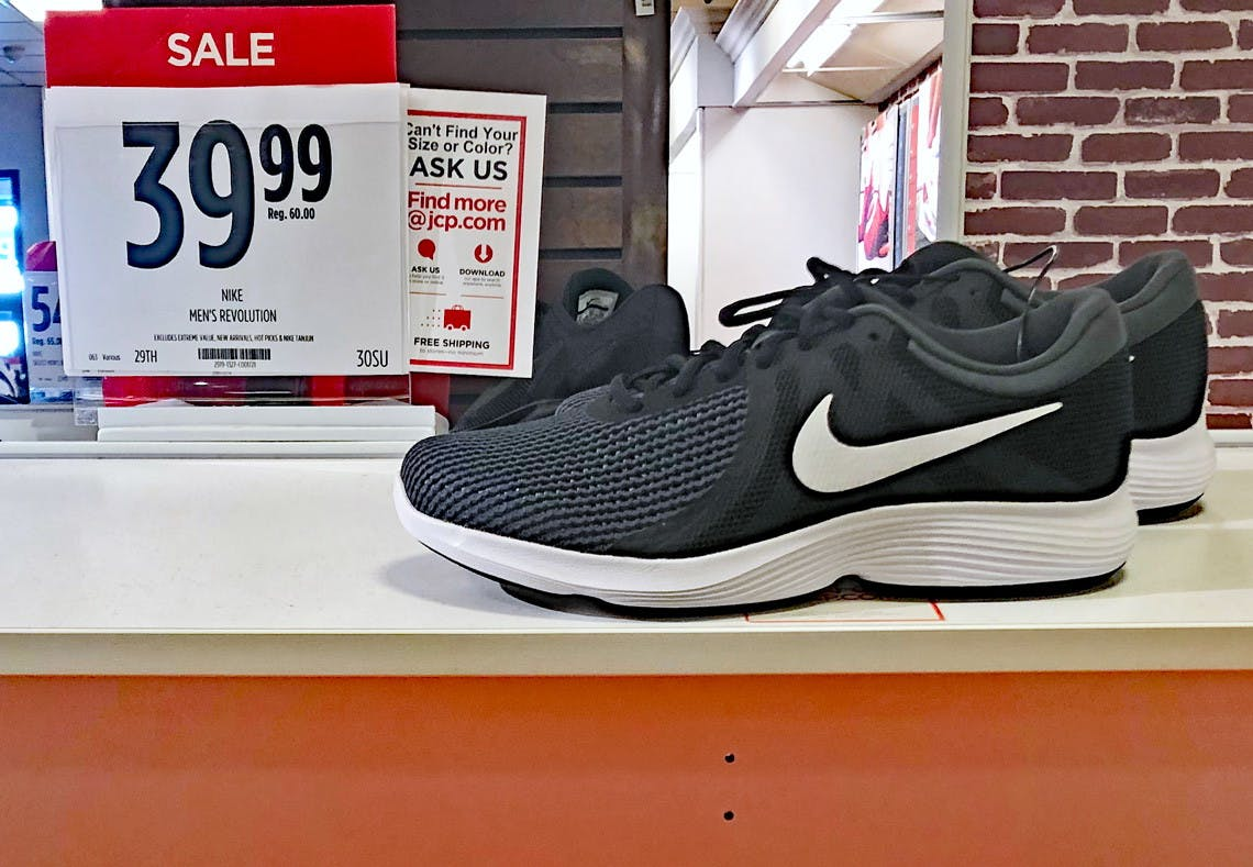 JCPenney Nike Shoe Sale: New Styles, as