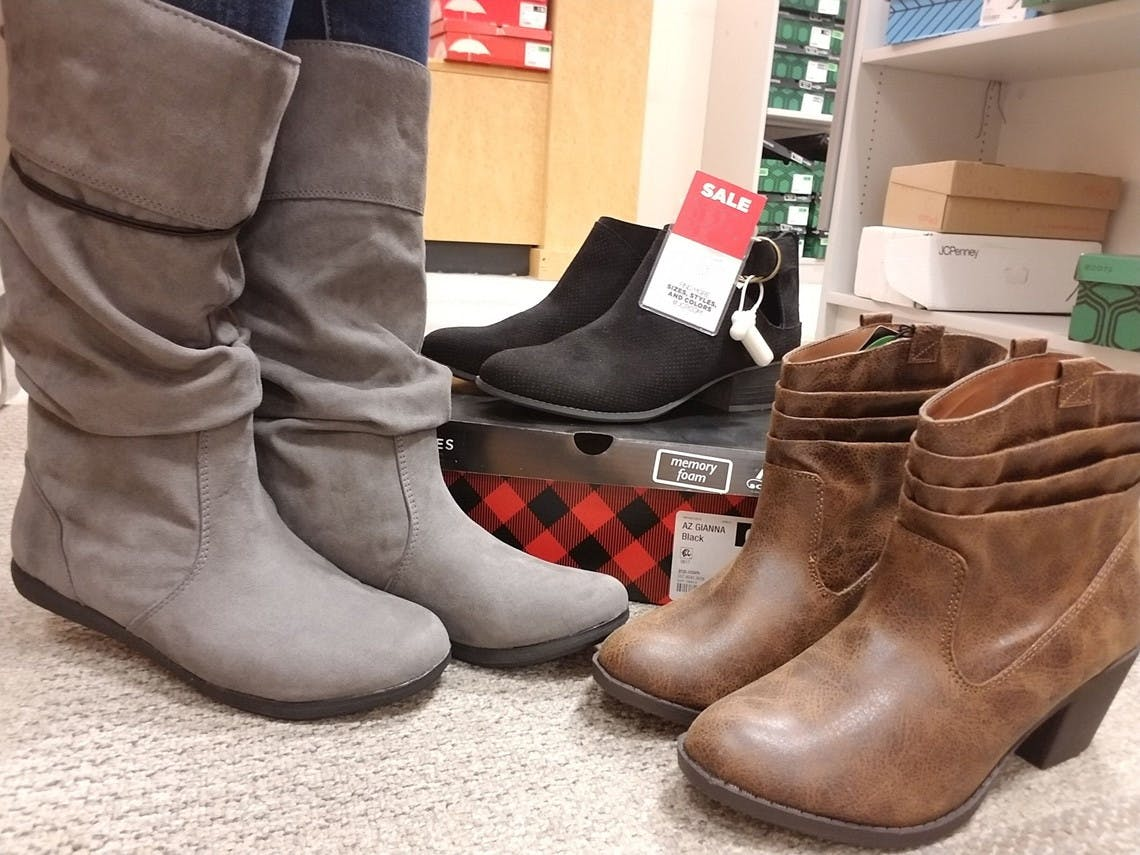 Women's Boots from $11.99 at JCPenney