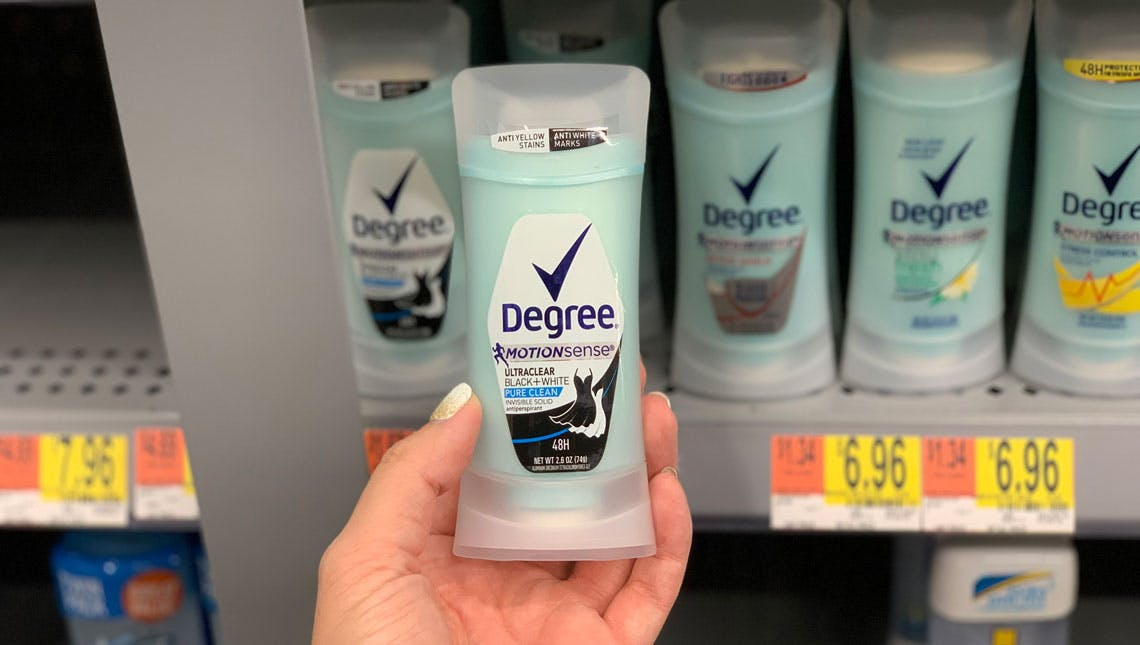 Degree Deodorant Only 2 99 At Walmart The Krazy Coupon Lady