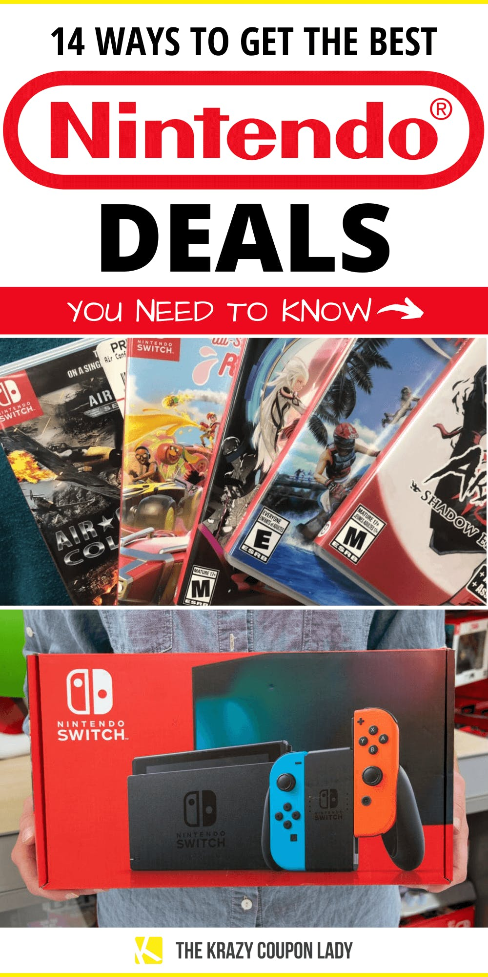 14 Nintendo Deals Your Family Will Love The Krazy Coupon Lady The box states that this. 14 nintendo deals your family will love
