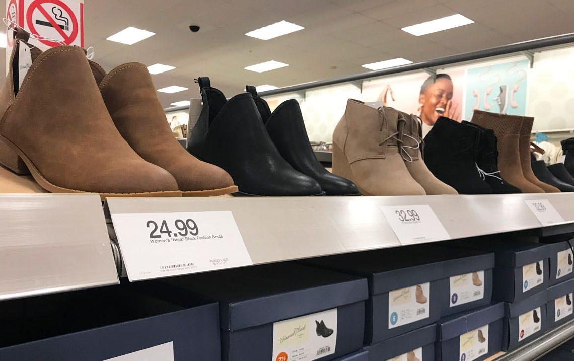 Booties, as Low as $18.99 at Target
