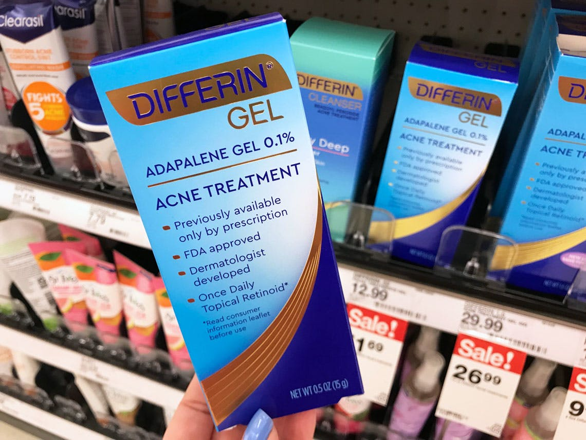 Differin Acne Gel As Low As 3 80 At Target The Krazy Coupon Lady