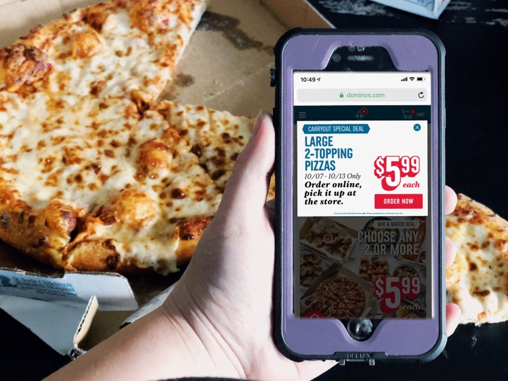 18 Genius Tips To Get Domino S Pizza Deals The Krazy Coupon Lady