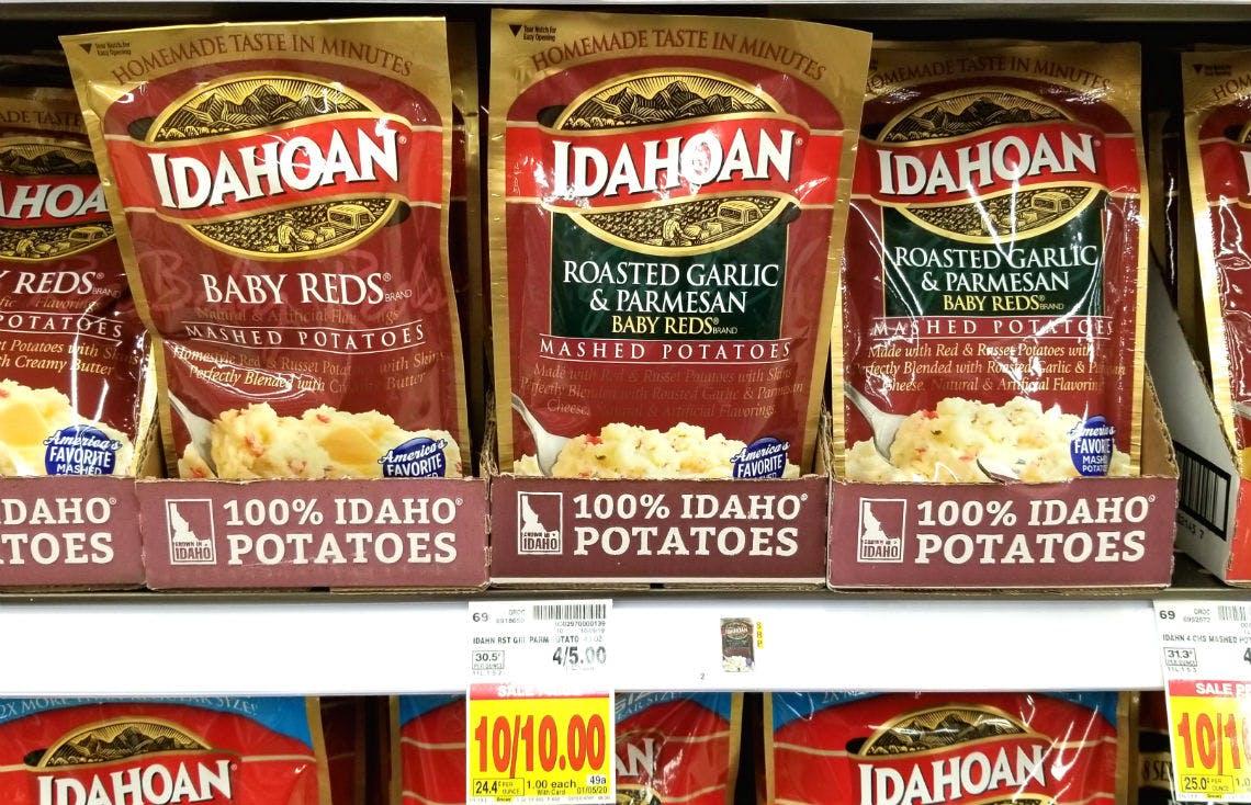 Free Idahoan Mashed Potatoes At Kroger Affiliates The Krazy Coupon Lady