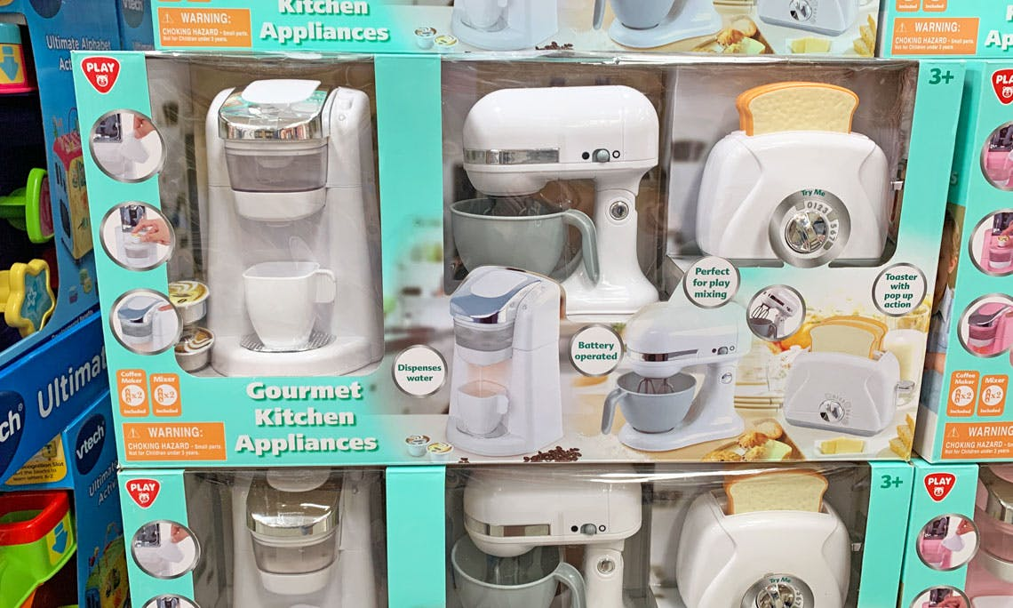 Gourmet Kitchen Appliances Toy Set Only 19 98 At Sam S Club The Krazy Coupon Lady