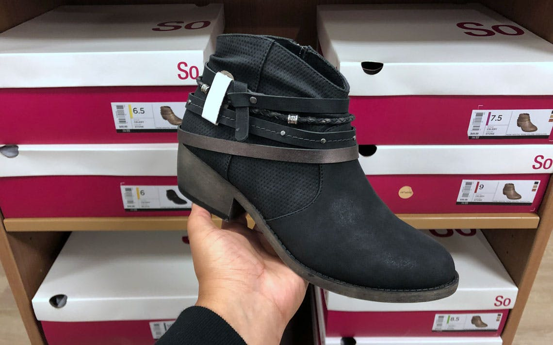 Women's So Boots, Just $16 at Kohl's