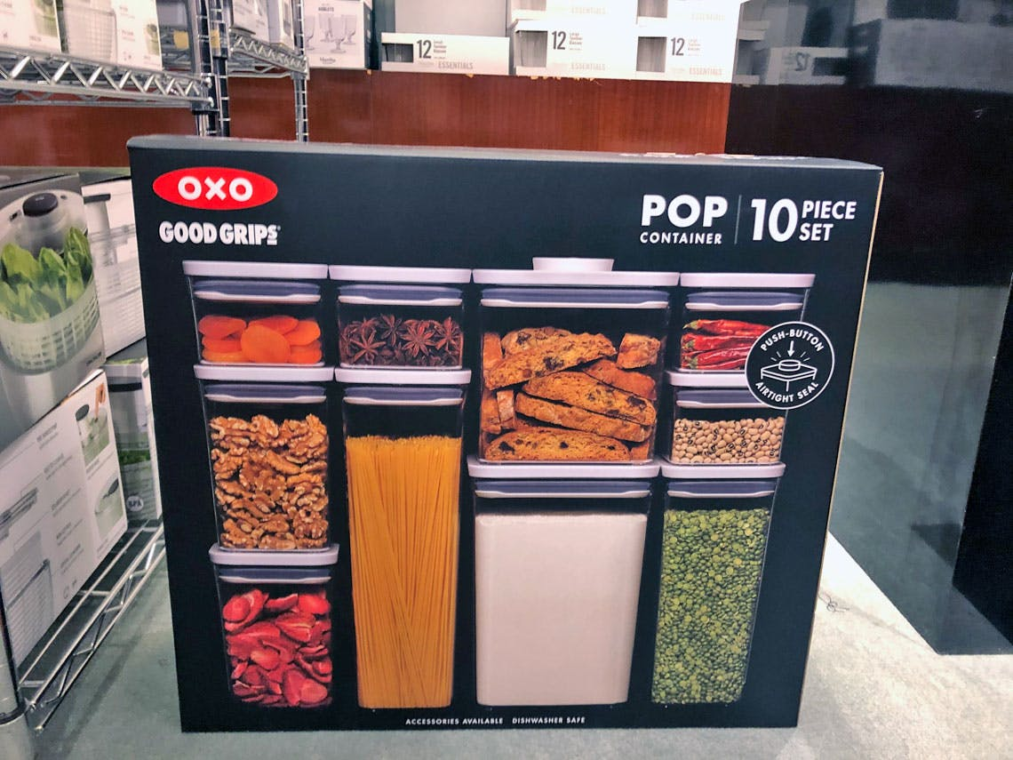 OXO Pop Containers, Just $7.50 Each at Macy's - The Krazy Coupon Lady