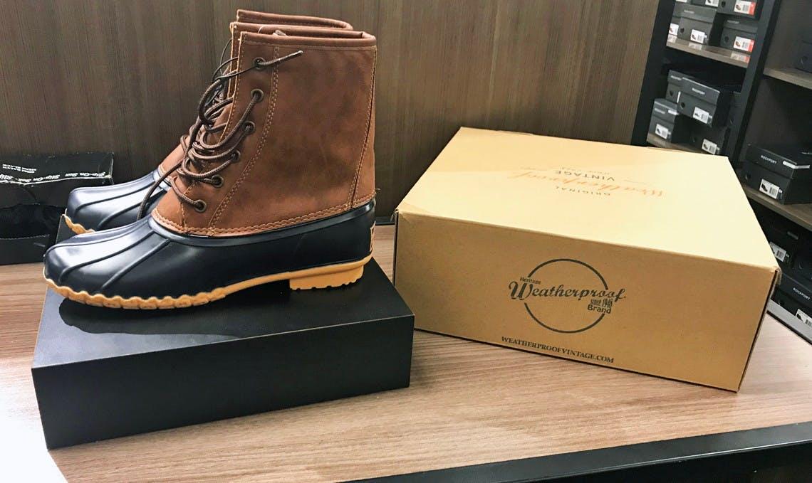 macys duck boots sale