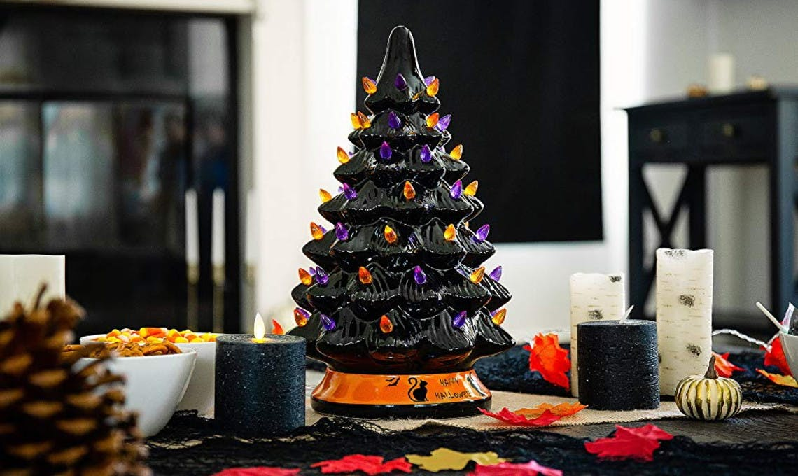 Ceramic Halloween Tree Only 29 99 Shipped The Krazy Coupon Lady