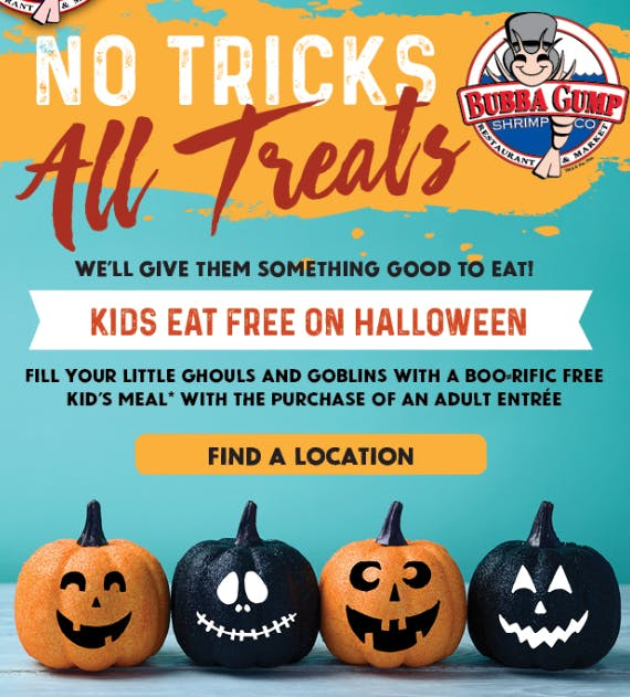 Free Food For Kids On Halloween 2020 Tyler Tx 15 Places to Get Free Food on Halloween   The Krazy Coupon Lady