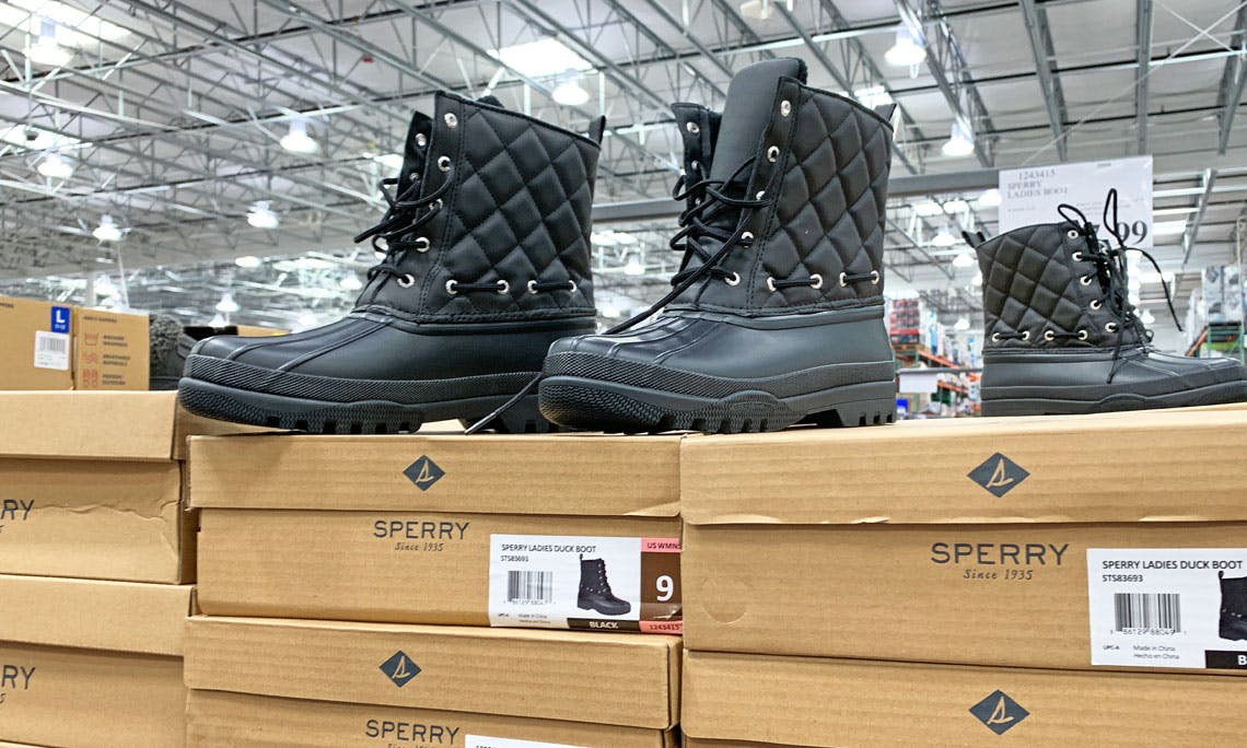 Sperry Ladies' Duck Boots at Costco