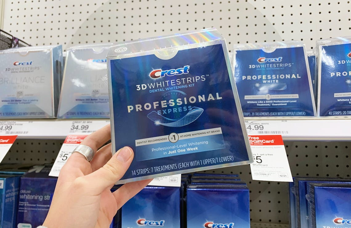 Crest Professional Express Whitestrips Only 28 49 At Target