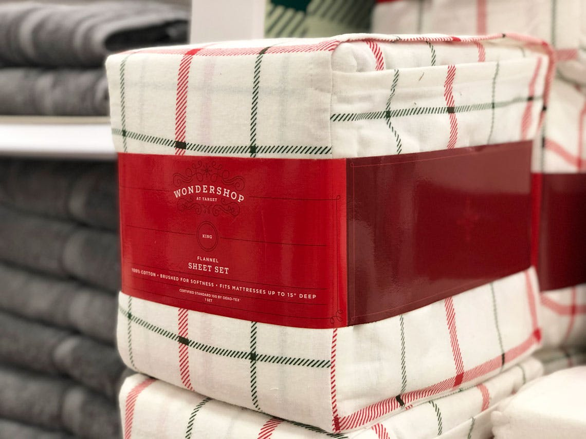 Flannel Sheets Sets As Low As 12 64 At Target The Krazy Coupon Lady