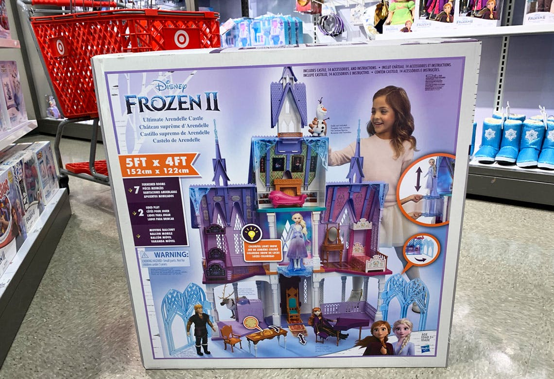 Disney Frozen 2 Castle Only 151 99 At Target The Krazy Coupon Lady