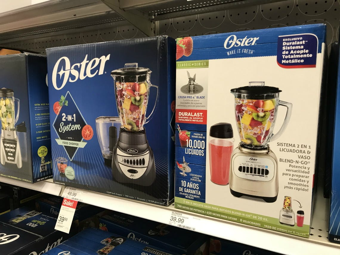 Oster And Black Decker Kitchen Appliances Only 16 15 At Target The Krazy Coupon Lady